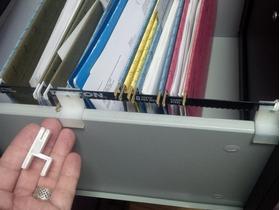 抽屉变文件柜的支架